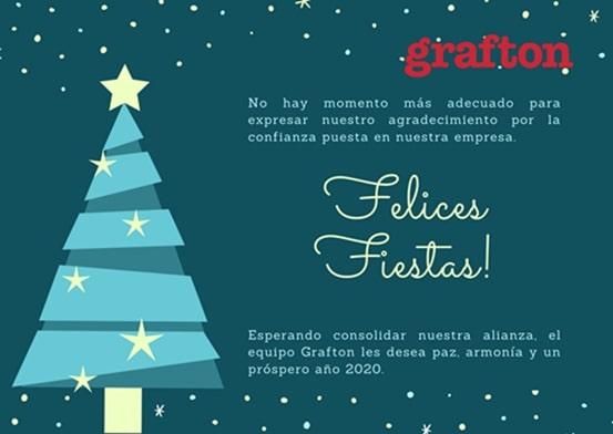 Saludo Navidad Grafton