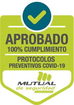 Sello Prevención Covid - Mutual de Seguridad