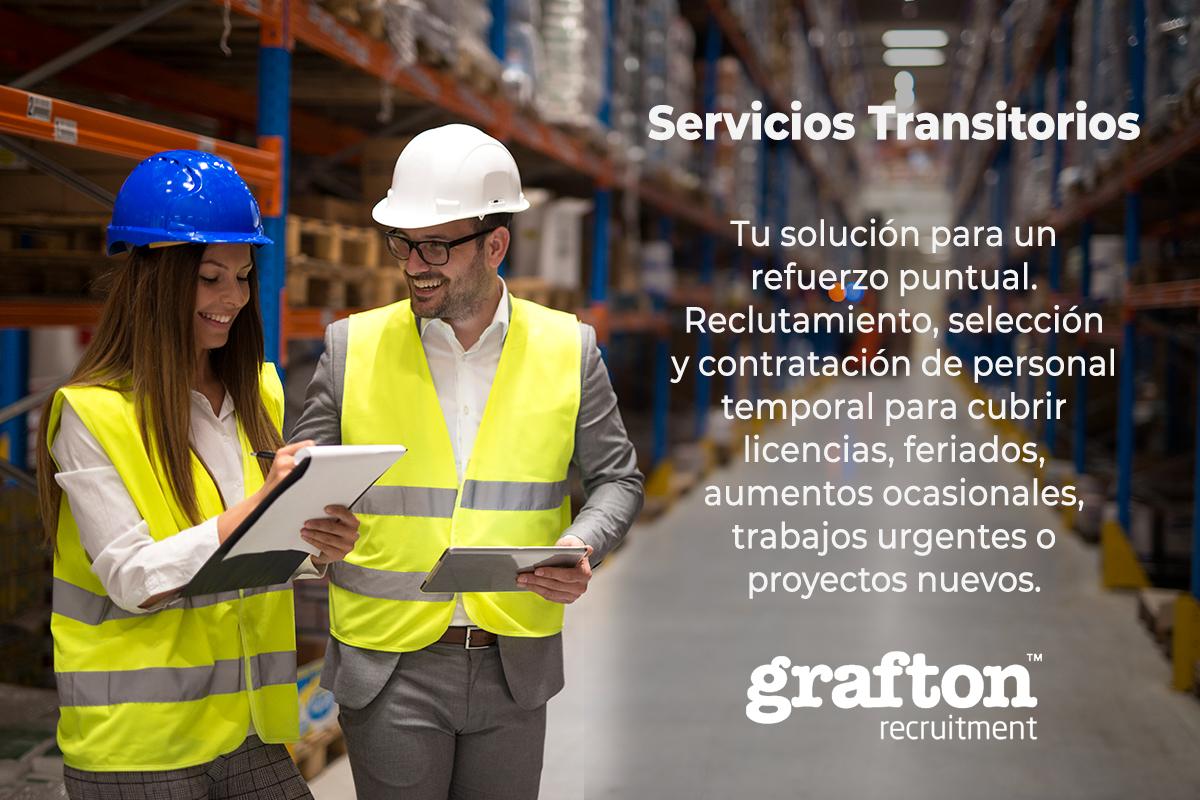 Servicios Transitorios - Reclutamiento de personal temporal
